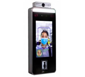 Control de accesos con reconocimiento facial, detector de cubrebocas y temperatura corporal - Facial DT - Sistemas Control de Accesos Autónomos