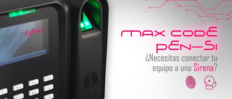 MaxCodeSi, sistema de control de asistencia