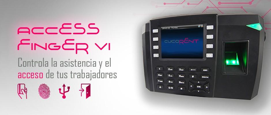 Access Finger VI, sistema de control de asistencia y accesos